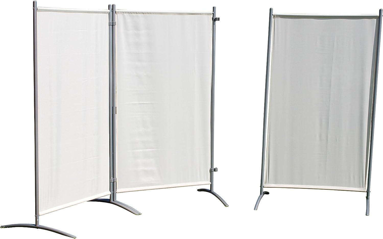 Leco de visión y cortavientos, stellwand, 260 x 156 x 1 cm: Amazon.es: Jardín