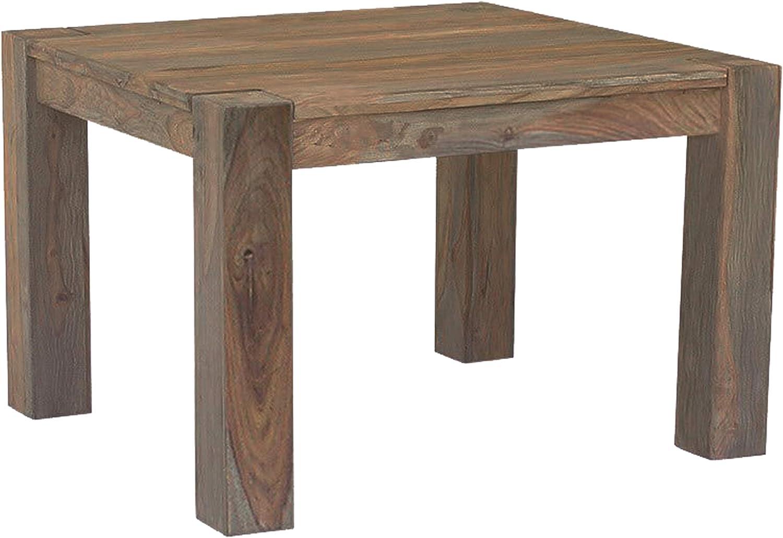 Bois massif de palissandre huil/é Table /à manger 120x90cm NATURE BROWN #812