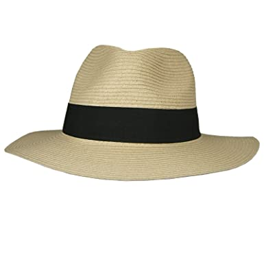 d84fcbe629e Hey Hey Twenty - Mens   Ladies - Packable Fedora Sun Hat with Travel Tube -