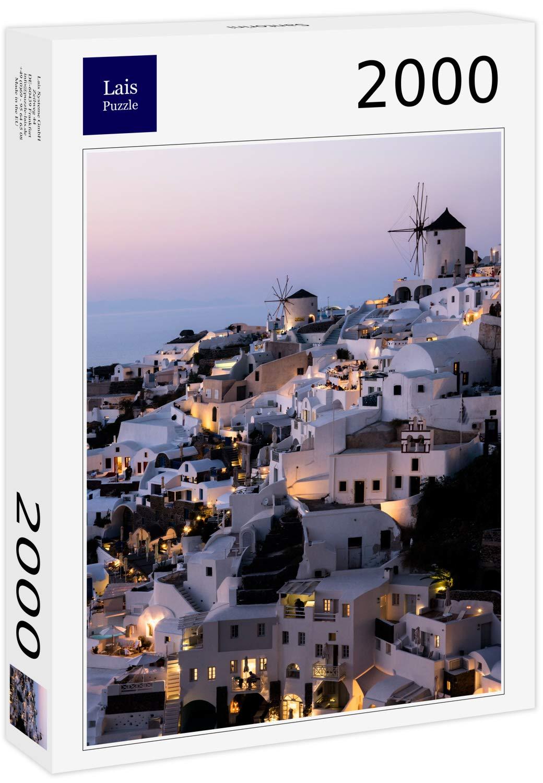 Lais Puzzle Santorini 2000 Piezas: Amazon.es: Juguetes y juegos