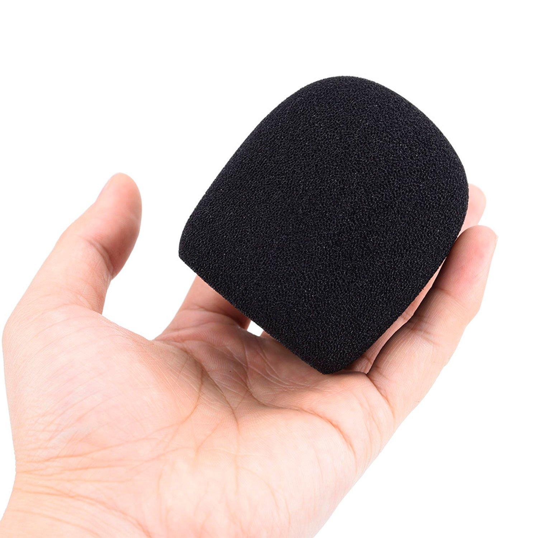 5 Pack Mudder 5 Pack Foam Mic Cover Handheld Microphone Windscreen