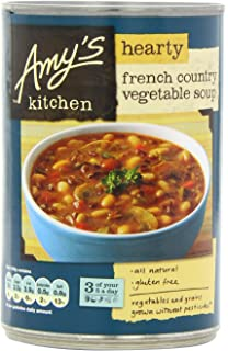 Amys Kitchen Mushroom Soup 400 g (Pack of 6): Amazon.co.uk: Grocery