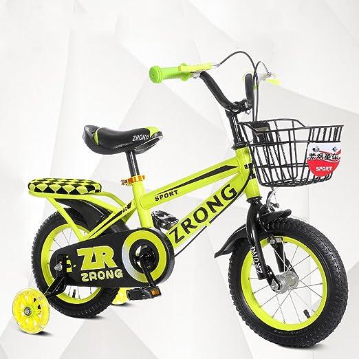 QARYYQ Bicicletas para niños de 4 a 7 años Bicicletas para niños ...