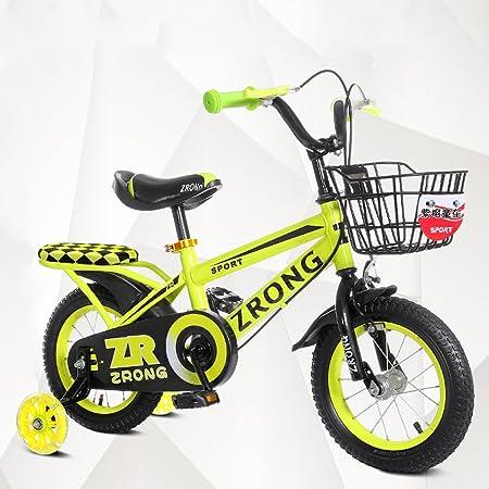 QARYYQ Bicicletas para niños de 4 a 7 años Bicicletas para niños Chicos de 16 Pulgadas