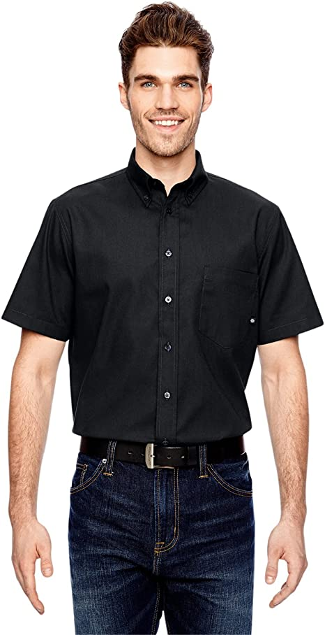 Dickies NEW Mens Button Down Twill Flex Wrinkle Resistant Industrial Work Shirt