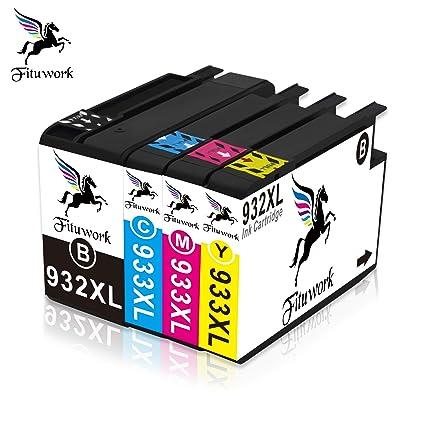 4 paquetes cartucho de tinta compartible de reemplazo para HP ...