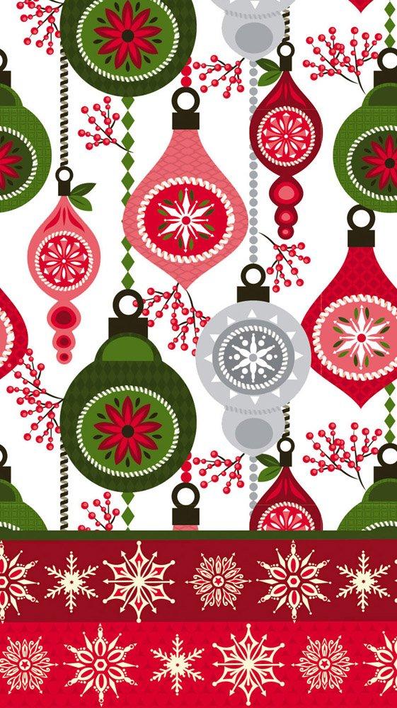CypressホームMerry Christmas Paperゲストタオル、15カウント B0751XH9YD