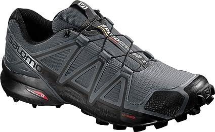 running Salomon speedcross 4 running shoes, men's size 11