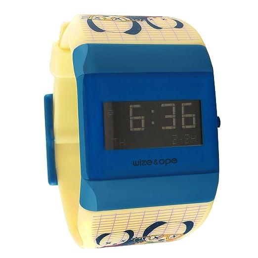 Wize & Ope WO-LR-3 - Reloj Digital Unisex, Correa de plástico