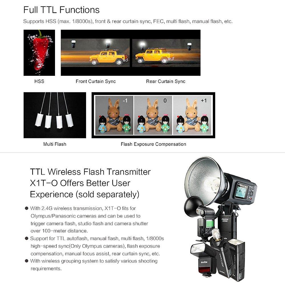 amazon com godox tt350o 2 4g ttl speedlite flash for olympus rh amazon com
