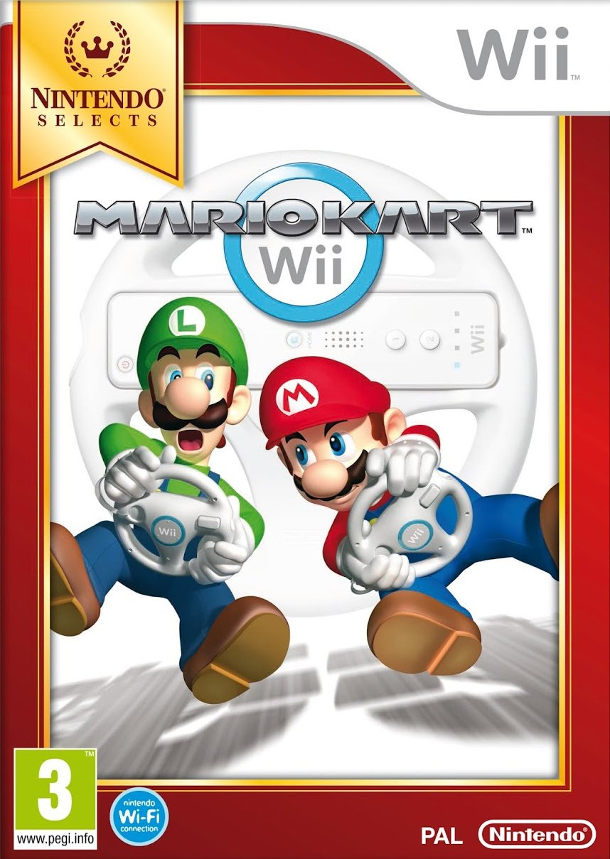 Nintendo Selects: Mario Kart Wii - Game Only (Nintendo Wii): Amazon.co.uk:  PC & Video Games