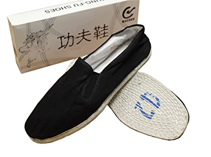 Amazon.com  Chinese Traditional Cloth Sole Kung Fu shoes size 43 (US ... ca7b87b322
