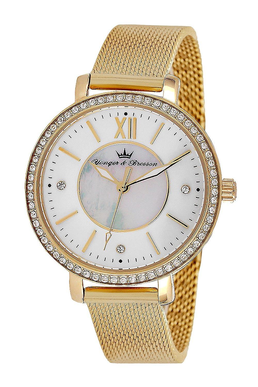 YONGER&BRESSON Damen-Armbanduhr DMP 049S-BM