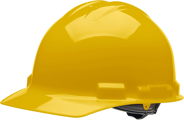Malta Dynamics 4 pt. Ratchet Cap Style Hard Hat (1 Pack, Yellow) - -