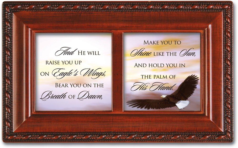 入園入学祝い Cottage Garden小柄インスピレーション音楽ボックス – Eagle 's 's Wings – Plays B0065OJ93E Eagle 's Wings with木目調仕上げ B0065OJ93E, TopTuner:b783acbe --- arcego.dominiotemporario.com