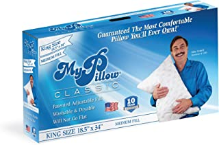product image for Classic Bed Pillow [King, Medium]