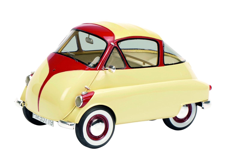 Schuco 450008700 -  ISO Isetta Fahrzeug, Fahrzeug, Fahrzeug, 1 18, Elfenbein-rot f48384