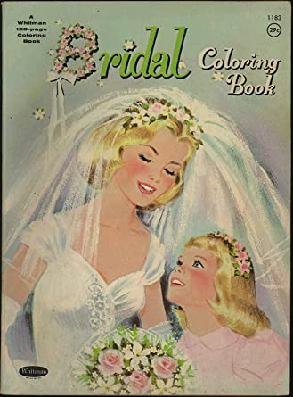 Bridal Coloring Book - Wedding - 1963 Whitman at Amazon\'s ...