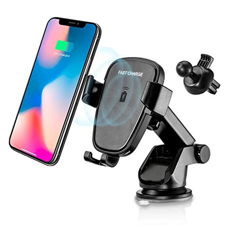 a5011abe3fe0dd YIJINSHENG Fast Wireless Charger,Car Mount Air Vent Phone Holder Cradle for  Samsung Galaxy S8