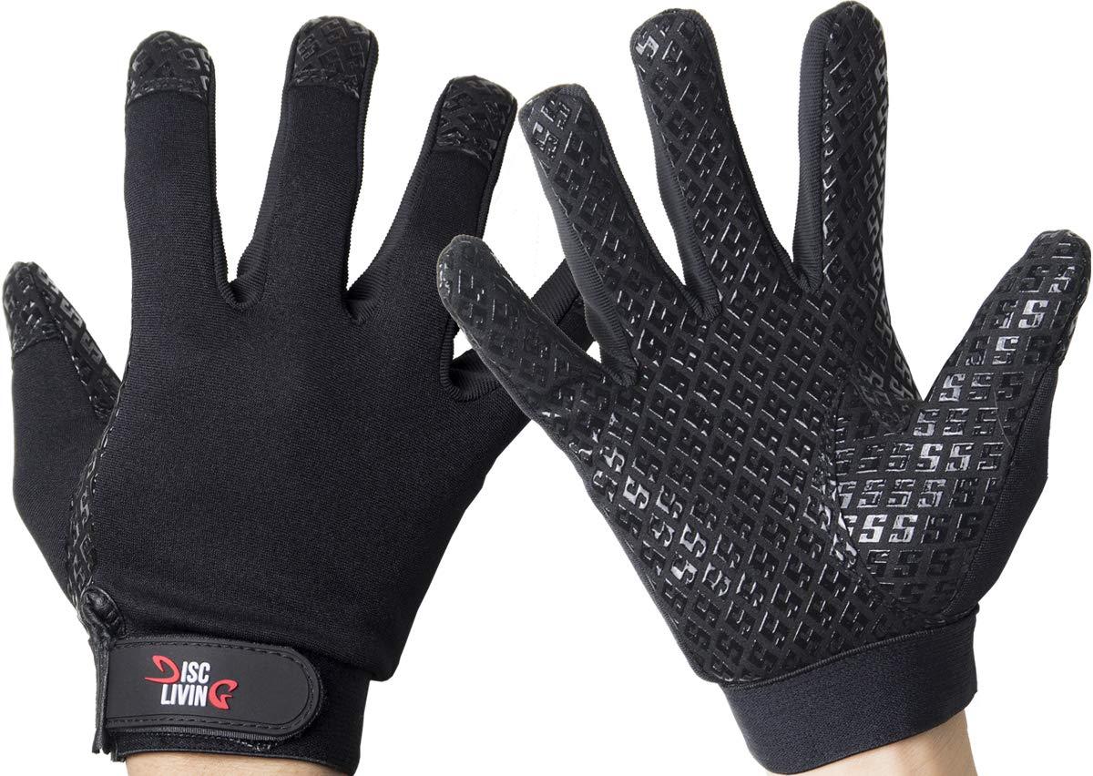 Disc Living Ultimate Frisbee Gloves Disc Golf Glove Grip