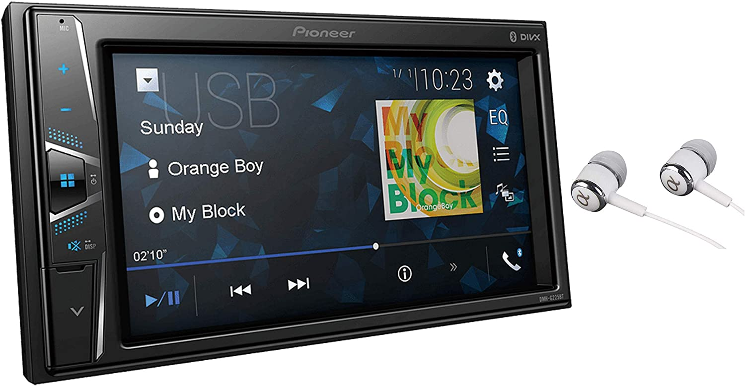 "Pioneer 6.2"" Double Din VGA Touchscreen"