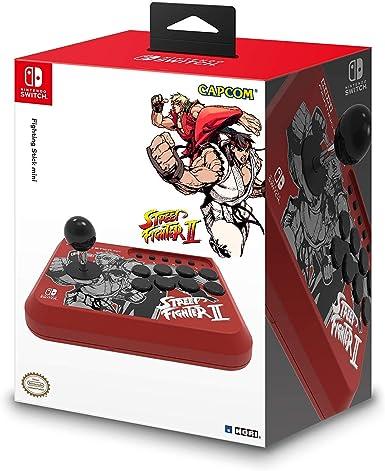Hori - Fighting Stick Mini, Edición Street Fighter II Ryu y Ken ...