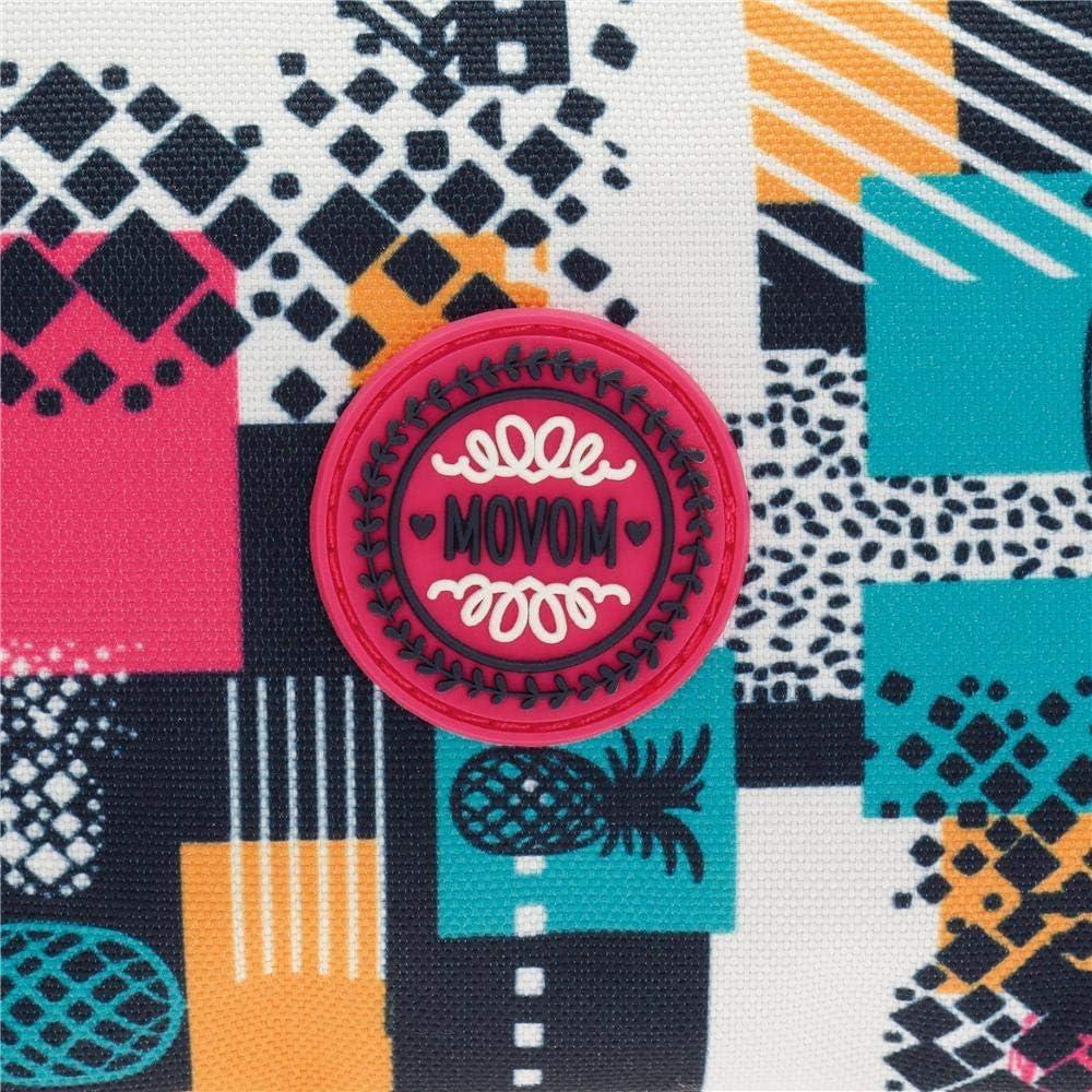 45 cm Mehrfarbig Movom Pinneapple Reisetasche 25.88 Liters Multicolor
