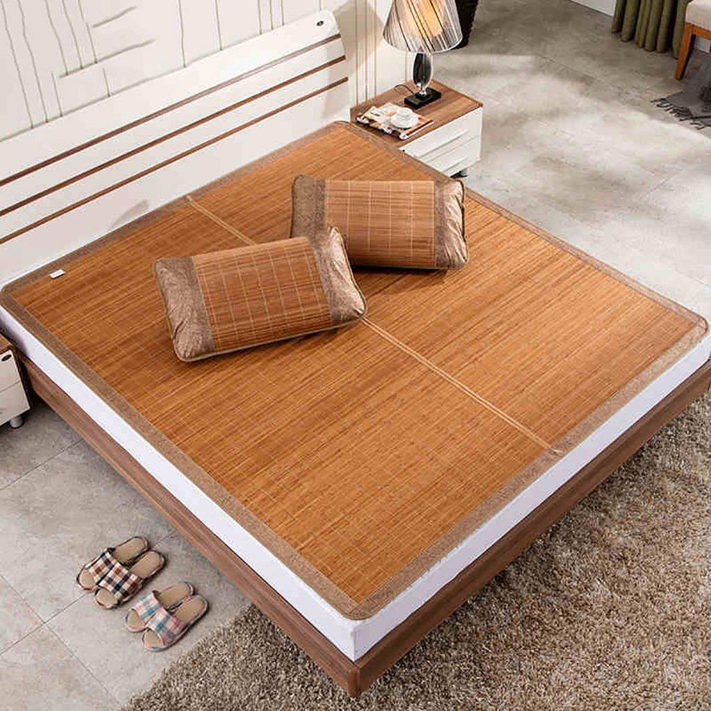 0.9m bed YXWzd Coole Bambusmatte Summer Collapsible Heat Dissipation Pad Eisschlafmatte 0,8 0,9 1,0 1,2 1,35 1,5 1,8 m (3,3 4   4,5 5 6 ft) (größe   0.9m Bed)