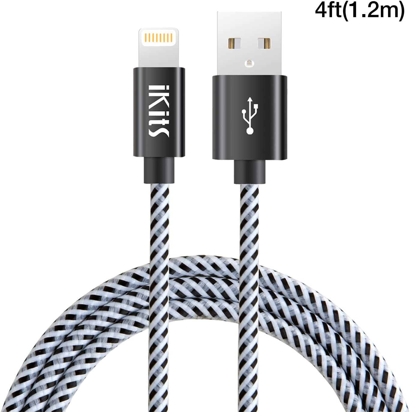 Fast Quick Charging MicroUSB Cable works with Alcatel OneTouch Hero is 5ft//1.5M allows fast charging Speeds!