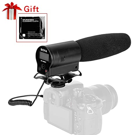 BOYA by-DMR7 - Micrófono Condensador de Escopeta con Grabador de ...
