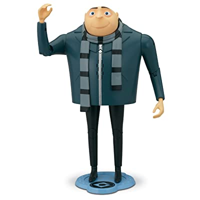 Despicable Me 2 Gru The Talking Genius Action Figure: Toys & Games [5Bkhe0301593]