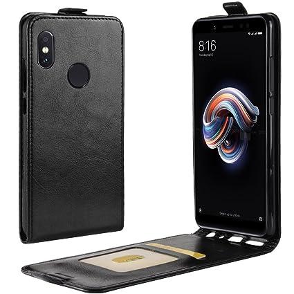 Xiaomi Redmi Note 5 Funda Negra,Carcasa Xiaomi Redmi Note 5 ...