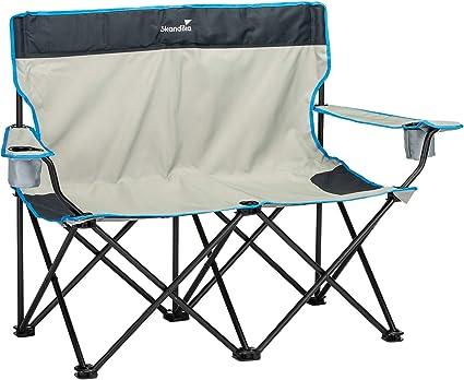 Faltstuhl Campingstuhl mit Armlehne und Getränkehalter bis 150 kg belastbar A7W0