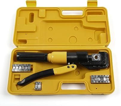 MultiWare Kit Coffret de Presse /à Sertir Outil de Sertissage Hydraulique
