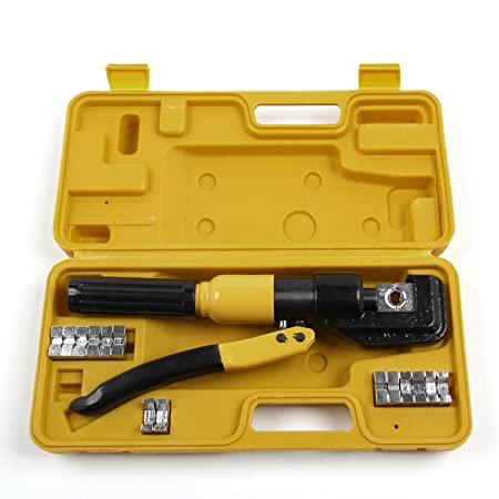 MultiWare Tube Terminals Lugs Battery Cable Wire Crimping Force ...