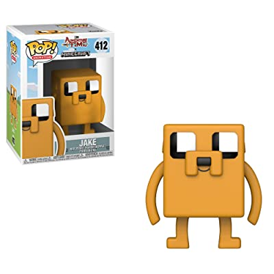 Funko Pop Television: Adventure Time - Minecraft Jake Collectible Figure, Multicolor: Toys & Games