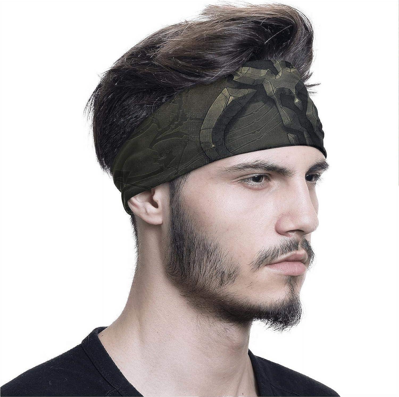 Unisex Headband Mandalorian-skull-poster Bandanas Magic Headwrap Neck Gaiter Balaclava Sport Headwear for Hiking Riding
