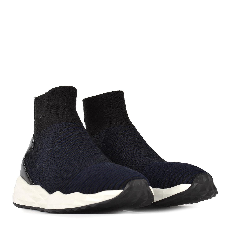 7a754a7df9eef Ash Footwear - Scratch - Zapatillas Tobilleras de Hombre en Negro Azul  Marino 43 Negro Midnight  Amazon.es  Zapatos y complementos