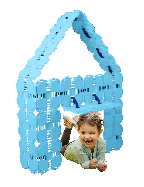 最安価格 Fortボードスターターパック – – Kids 43 Building Toy – ジャンボConstructionブロック – B01M2XFNKP 43 Pieceセット – ライトブルー B01M2XFNKP, バナナ ビーチ:1ee571d4 --- a0267596.xsph.ru
