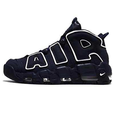 0f461e8145 Image Unavailable. Image not available for. Color: NIKE Men's Air More  Uptempo, Obsidian/Obsidian-White ...