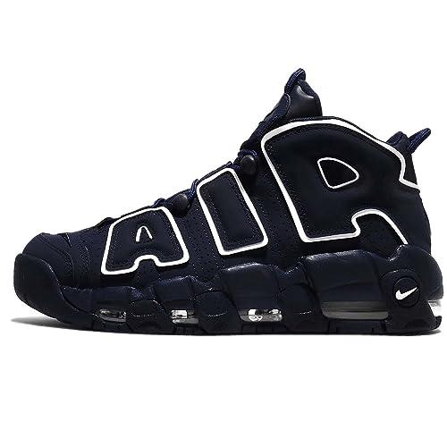 Ceniza Cintura Contratación  Buy Nike Men's Air More Tempo '96 Obsidian 921948-400 (Size: 11) at Amazon .in