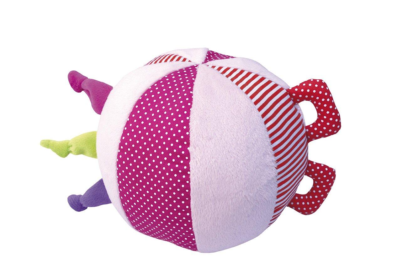 Jabadabado Entdeckerball rosa Babyball