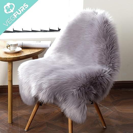 Heart Shaggy Rabbit Fur Rug Soft Carpet Floor Chair Sofa Cushion Mat Home Decor