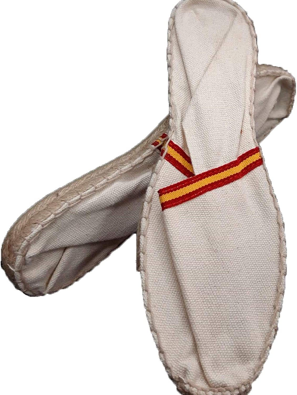 Alpargatas de Esparto Bandera de España Made in Spain en beig: Amazon.es: Zapatos y complementos