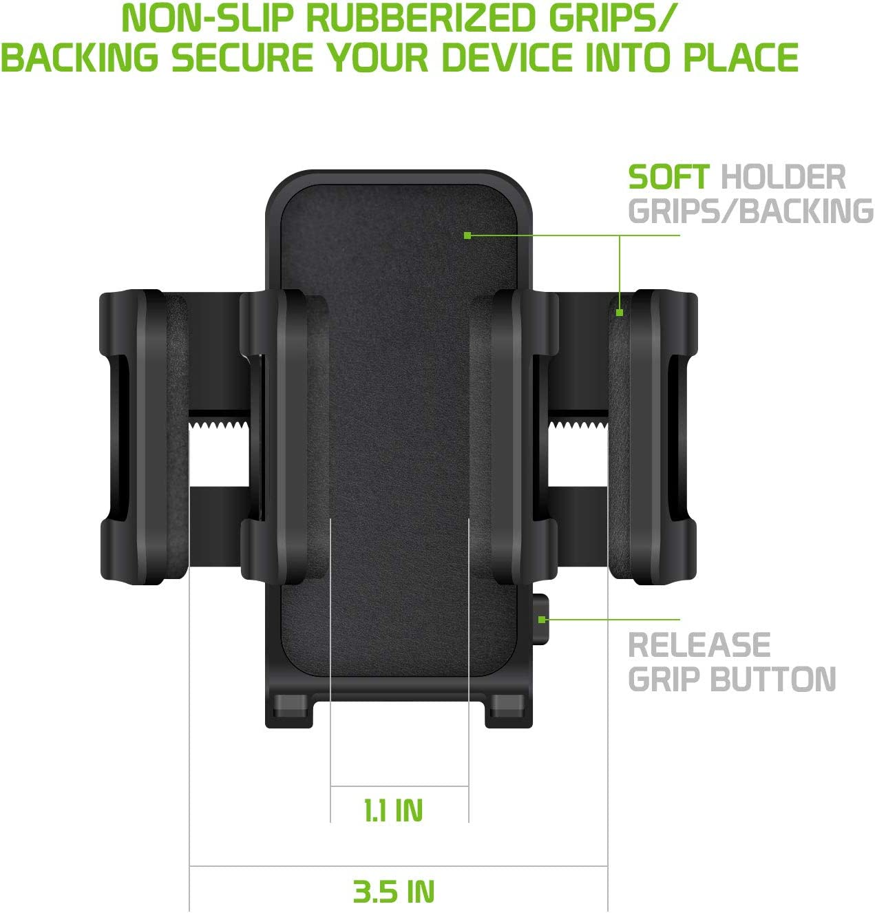 Cellet Cell Phone Motorcycle//Bicycle Handlebar Premium Holder Mount Compatible to 11 Pro Max Xr Xs Max X SE 8 7 Plus Galaxy A50 S10 S20 S20 S20 5G S9 S8 Note 10 9 10 Pixel 4 3 XL LG V50 G8 Z Flip