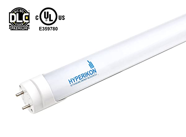714TKH2vPvL._SX600_ hyperikon t8 led light tube, 4 ft, dual end powered, works with  at edmiracle.co