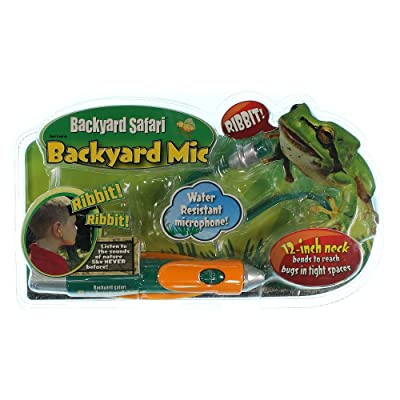 Backyard Safari Microphone: Toys & Games