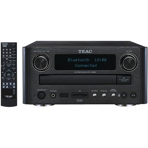 Amazon.com: Teac CR-H260I-B CD/SD Receiver with Bluetooth ...