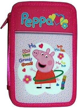 TOYLAND 5660 Peppa Pig Estuche 3 Cremallera: Amazon.es: Juguetes y juegos
