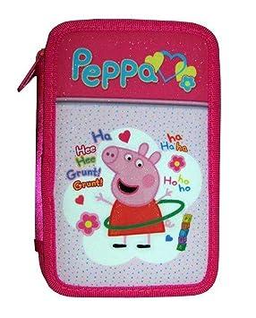 TOYLAND 5660 Peppa Pig Estuche 3 Cremallera: Amazon.es ...